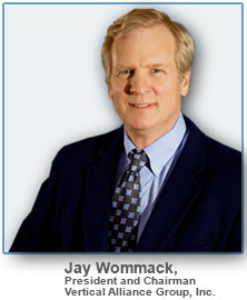 Jay Wommack CEO Vertical Alliance Group Author